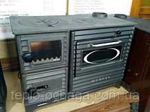 Duval EK-5237 BL отопительно-варочная печь серия SUREL Black Edition, фото 3