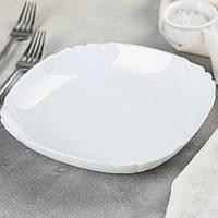 Тарілка супова біла Luminarc Lotusia 225 мм (Н1503)