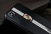 Чехлы для iPhone 5 5S Porsche металлические, фото 1