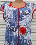 """Трикотажный халат """"Джинс"""" 58 размер, фото 6"""