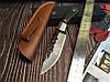 Охотничий нож нескладной ручная робота MAD BULL B09, фото 2