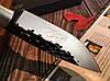 Охотничий нож нескладной ручная робота MAD BULL B09, фото 7
