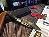 Охотничий нож нескладной ручная робота MAD BULL B09, фото 5