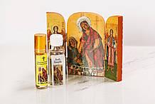 МИРО, освячене біля ікони Пресвятої Богородиці «Кассопитра» (для зцілення незрячих), 30 мл
