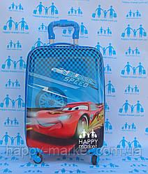 Валізи дорожні дитячі ручна поклажа 48 см Josepf Ottenn Тачки Маквин 0381-11