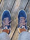 Кросівки чоловічі Nike Air Force 1 Reflective, сині, фото 3