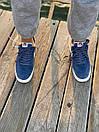 Кроссовки мужские Nike Air Force 1 Reflective, синие, фото 7