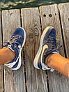 Кросівки чоловічі Nike Air Force 1 Reflective, сині, фото 2