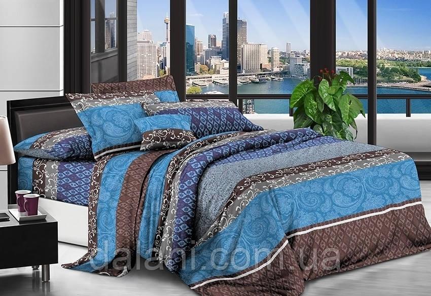 Двуспальный комплект постельного белья из поликоттона 3D