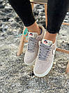 Кроссовки женские Nike Air Force Reflective, серые, фото 8
