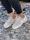 Кроссовки женские Nike Air Force Reflective, серые, фото 3