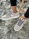Кроссовки женские Nike Air Force Reflective, серые, фото 6