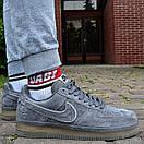 Кроссовки мужские Nike Air Force 1 Reflective, серые, фото 4