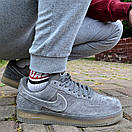 Кроссовки мужские Nike Air Force 1 Reflective, серые, фото 3