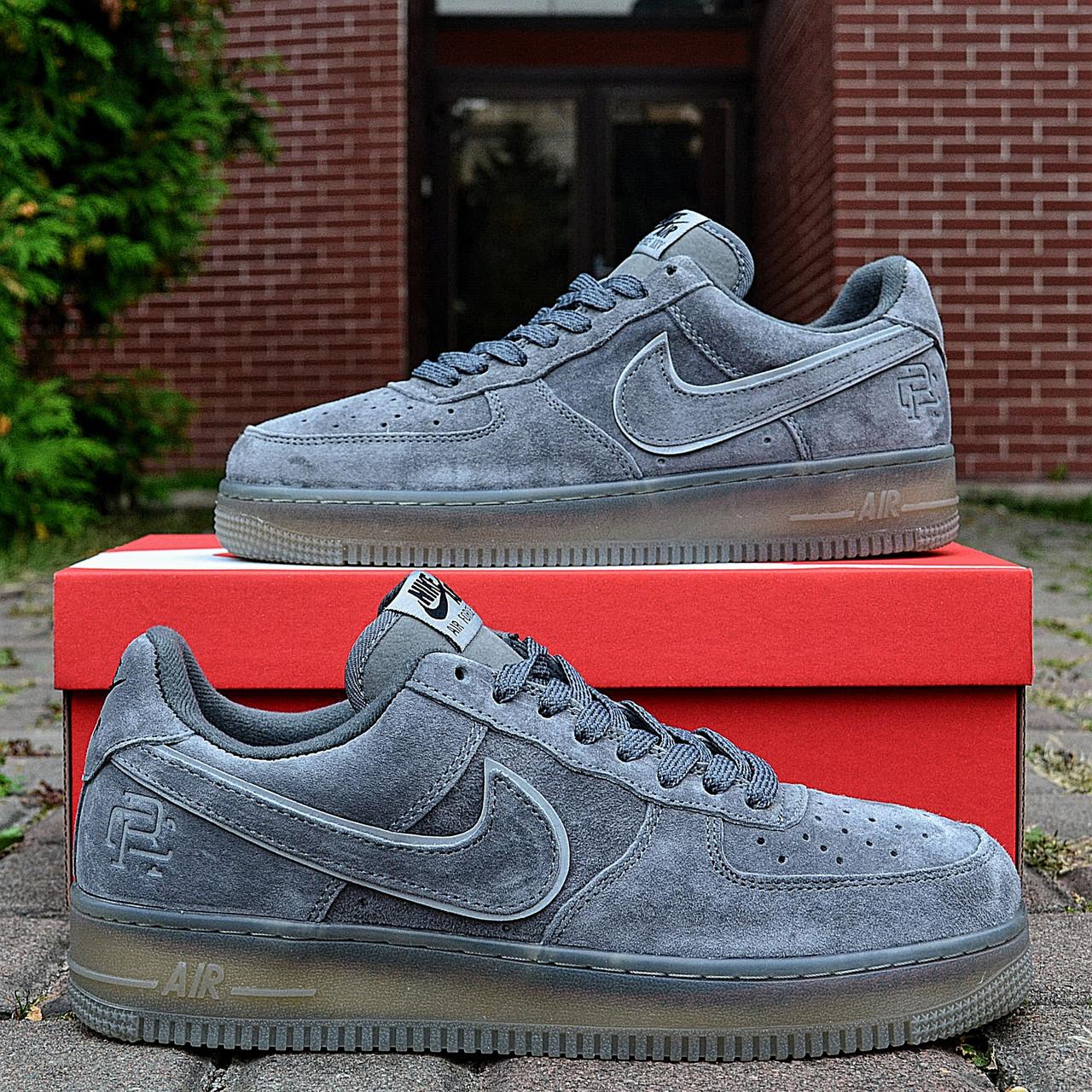 Кроссовки мужские Nike Air Force 1 Reflective, серые