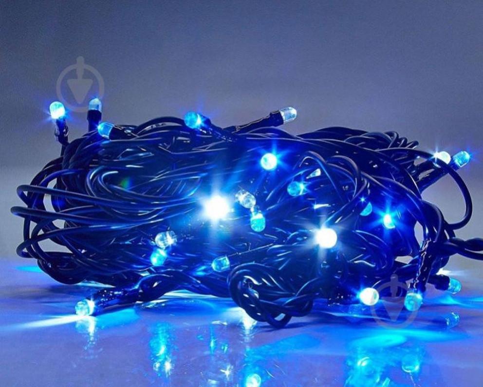 Світлодіодна гірлянда 500 синя Led, 28м