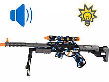 Детский автомат со звуком, с прицелом (свет,звук эфф..) Same Toy