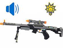 Игрушечный Автомат со звуком и светом, Винтовка снайперская (63 см), Same Toy