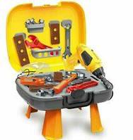 Набор инструментов в чемодане с дрелью 4в1, 3+