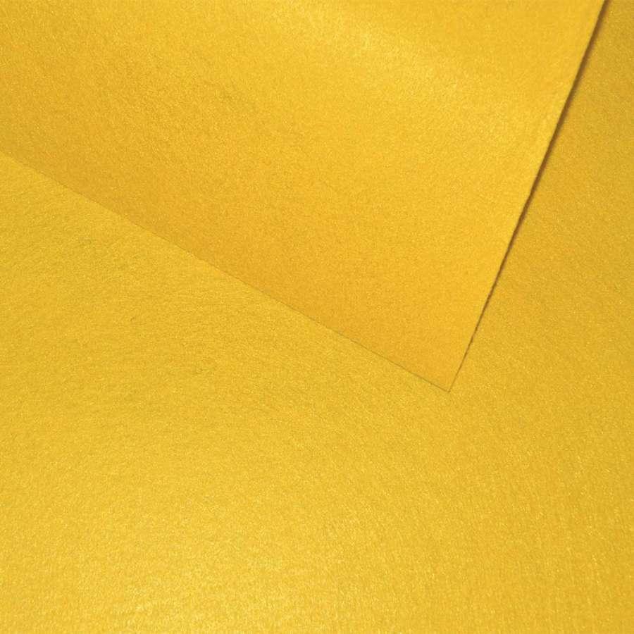 Фетр желтый 80 * 100 см.