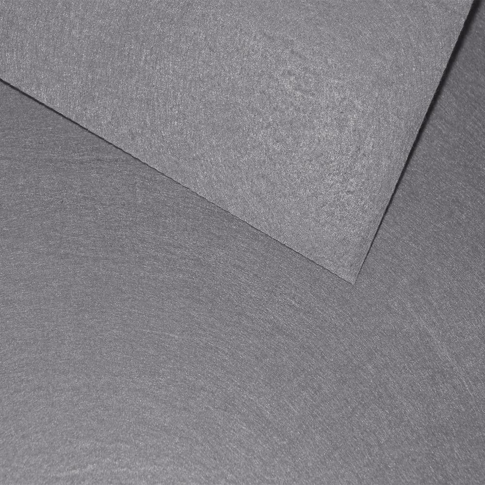 Фетр серый 40 * 50 см.