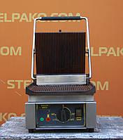 Гриль контактный «Roller Grill Panini SAVOYE», (Франция), рифленая поверхность, Б/у, фото 1