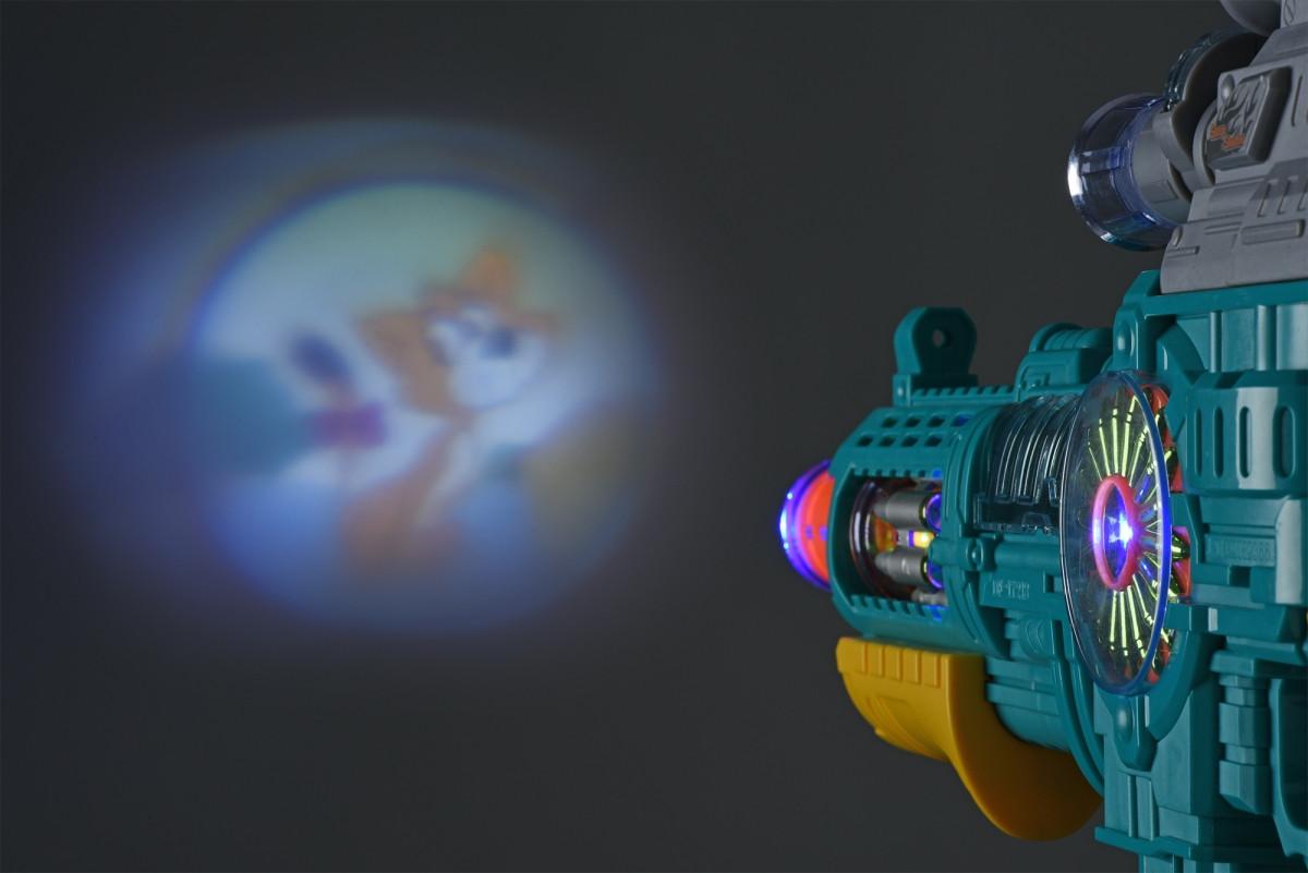 Дитячий бластер зі світлом і звуком + ліхтарик, Peace Pioner, Same Toy