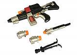 Іграшковий кулемет зі світлом і звуком + ліхтарик, 52 см, Same Toy, фото 5
