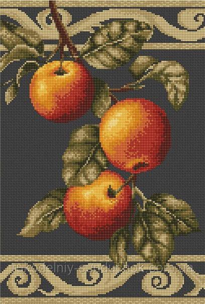 Набор для вышивки крестом Luca-S B277 Веточка яблони
