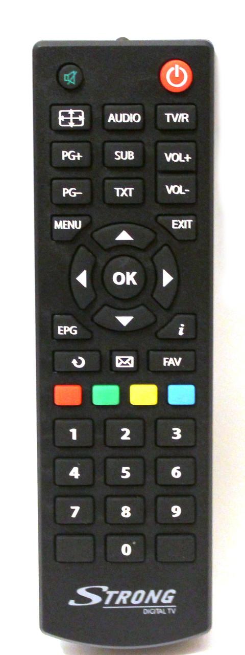 Пульт для тюнера STRONG SRT-8502 DVB T2 ОРИГІНАЛ