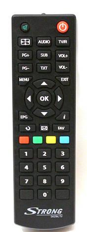 Пульт для тюнера STRONG SRT-8502 DVB T2 ОРИГІНАЛ, фото 2