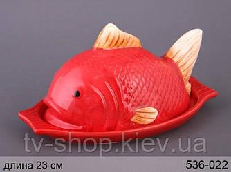 Блюдо с крышкой Рыба