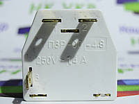 Пусковое реле ПЗР-00, 1.4A, 250V для холодильников. Китай, фото 1