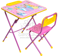 Комплект детской мебели стол с пеналом и стул