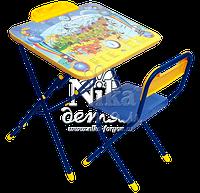 Комплект детской мебели стол-парта с пеналом и стул