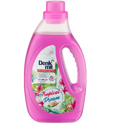 Denkmit Гель для прання кольорових тканин Tropical Dream 1.1 л., 20 прань.