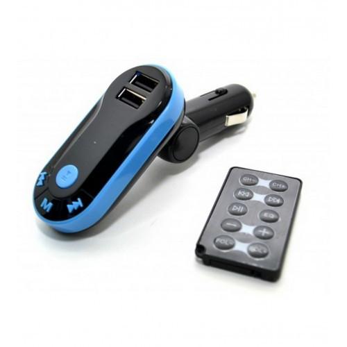Автомобільний FM-модулятор Good Idea MP3 ST-66 Синій (bi1933hh)