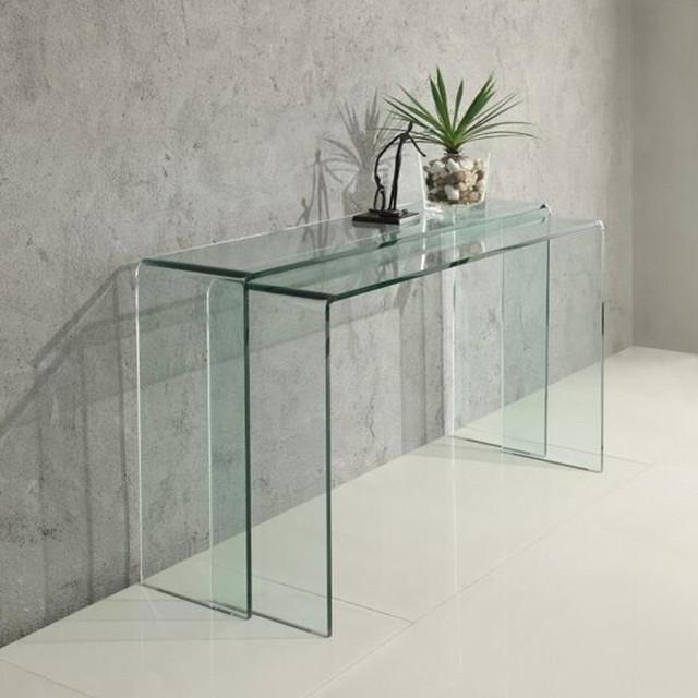 Скляні меблі