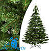 Искусственная силиконовая елка КОВАЛЕВСКАЯ зелёная 215 см