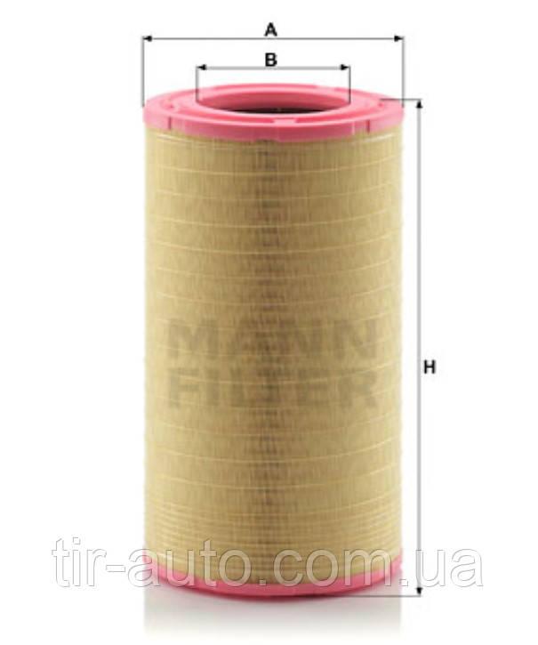 Фильтр воздушный Renault Premium /TR/PR ( MANN ) C 321752/1