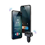 FM модулятор трансмиттер Bluetooth Baseus T Typed MP3 CCALL-TM01 2USB 3.4A (278738), фото 9