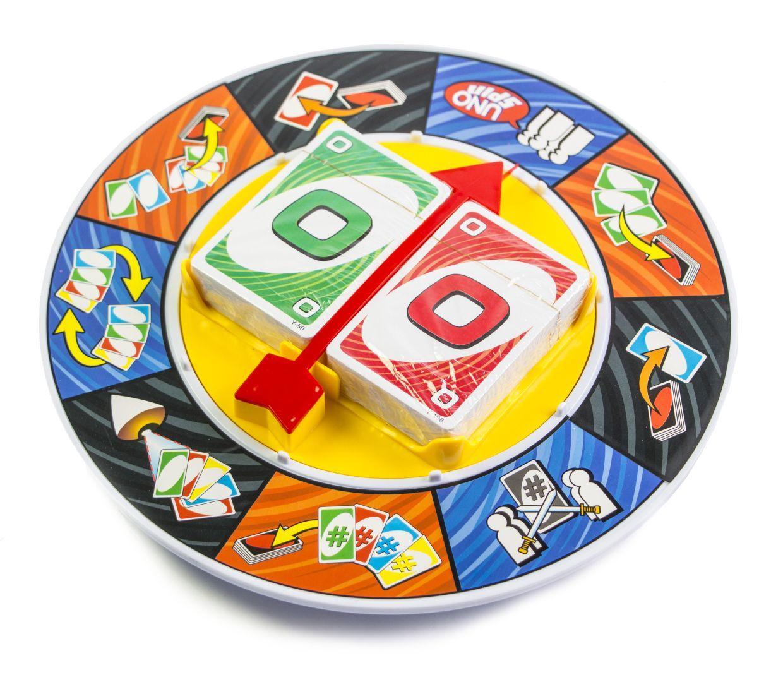 Настольная игра Uno Spin (0129R)