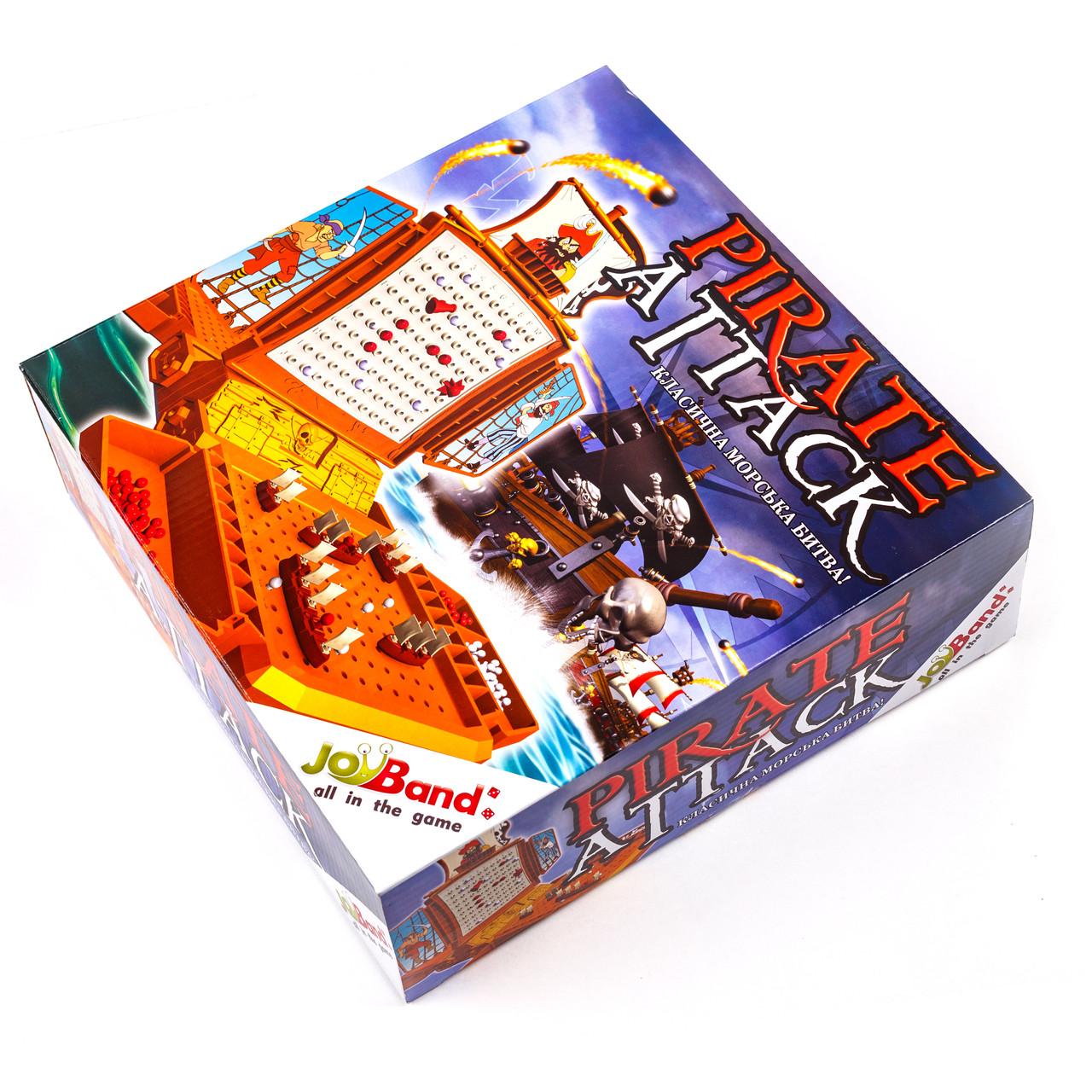Настольная игра JoyBand для детей 6-13 лет Морской бой (12200) (4897021190225)