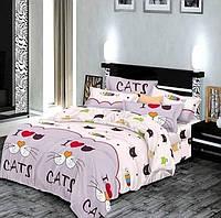 Очень милое и качественное детское постельное белье полуторка, котики
