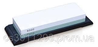 Камінь Точильний Водний Комбінований Зернистість 3000/8000 Samura SCS-3800/U, фото 2
