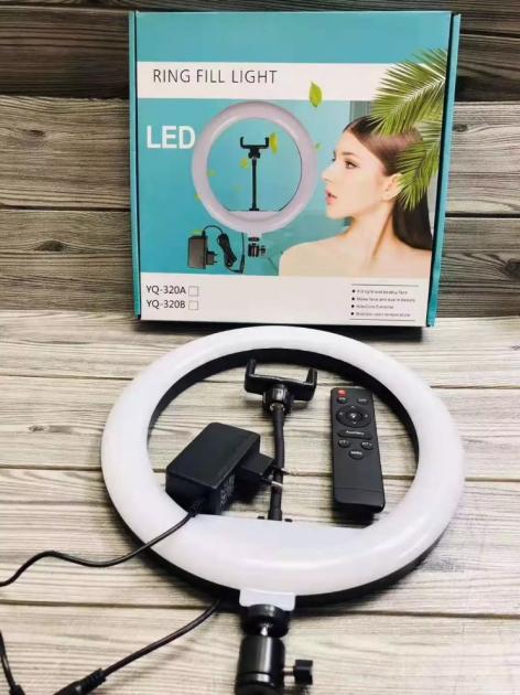 Кільцева світлодіодна Led лампа з тримачем телефону 30 см