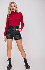Женские шорты под кожу, в расцветках, р.M,L,XL, фото 3