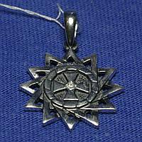 Серебряный кулон Звезда Эрцгаммы 3115-ч