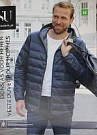 Германия. Размер M. Ультралегкий мужской пуховик Straight Up. Мужская пуховая куртка
