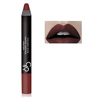Матовая помада-карандаш Matte Lipstick Crayon Golden Rose